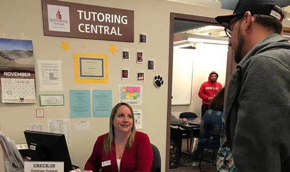 Student at Tutoring Central