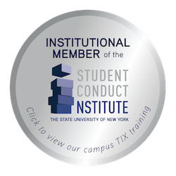Institutional Member of the SUNY Student Conduct Institute