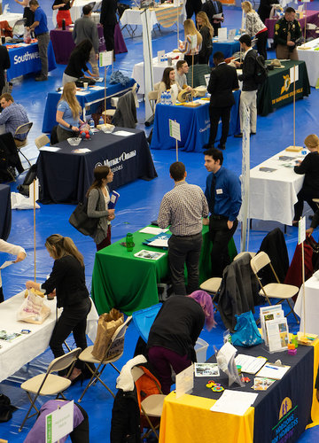 Job and Internship Fair Tinsley Center